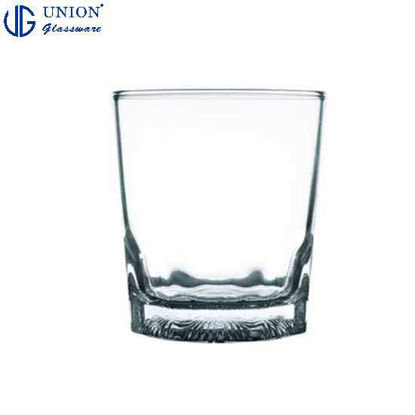 Picture of UNION GLASS Thailand Premium Clear Glass Rock Glass Water, Juice, Soda, Liquor Glass 265ml | 9oz Set of 6