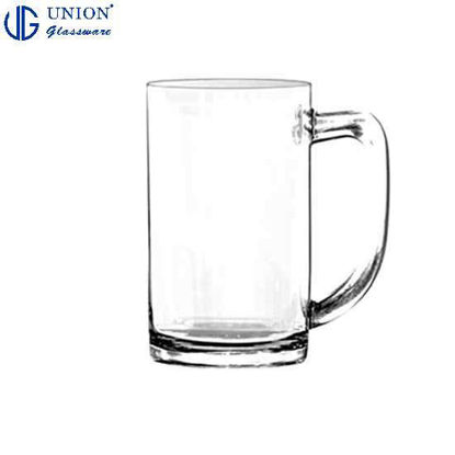 Picture of UNION GLASS Thailand Premium Clear Glass Beer Mug Beer Lovers 535ml |17.5oz Set of 6