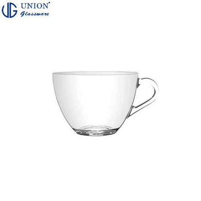 Picture of UNION GLASS Thailand Premium Clear Glass Cup Coffee, Tea, Hot Chocolate, Milk 220ml |8.5oz