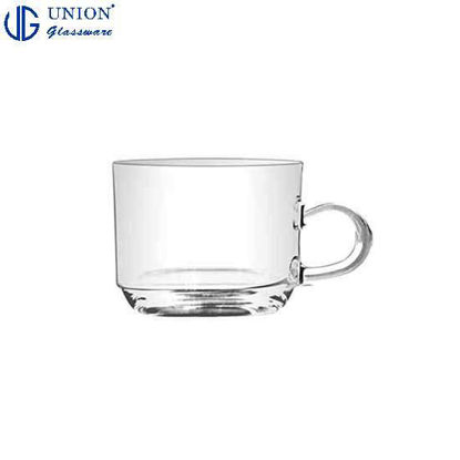 Picture of UNION GLASS Thailand Premium Clear Glass Cup Coffee, Tea, Hot Chocolate, Milk 200ml |7oz