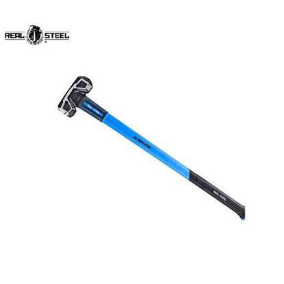 Picture of REALSTEEL Premium Jacketed Graphite Sledge Hammer, Cross Striking Head 2.70kg
