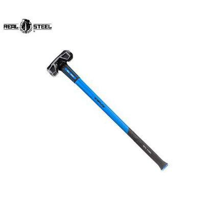 Picture of REALSTEEL Premium Jacketed Graphite Sledge Hammer, Cross Striking Head 3.60kg