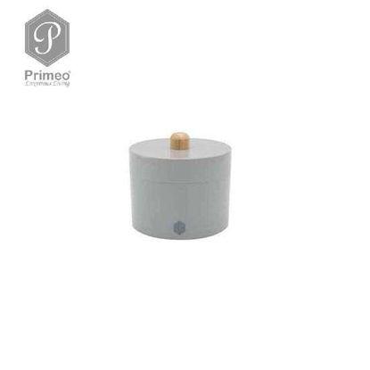 Picture of PRIMEO Premium Bamboo Cotton Jar 10.5cm X 10.5cm X 10cm