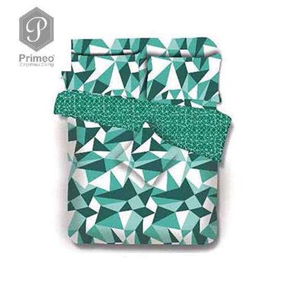 Picture of PRIMEO Premium 100% Cotton 220TC King Comforter Set of 4 Turquoise