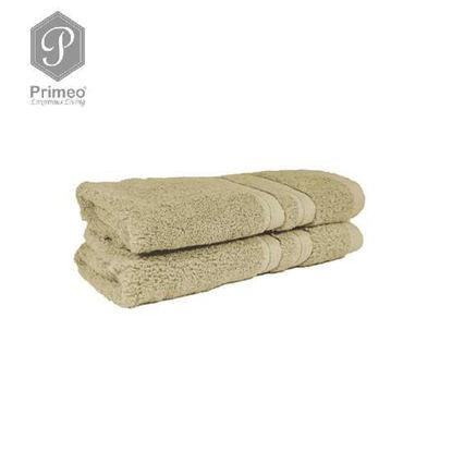 Picture of PRIMEO Premium 100% Cotton Hand Towel 520gsm Set of 2 Beige