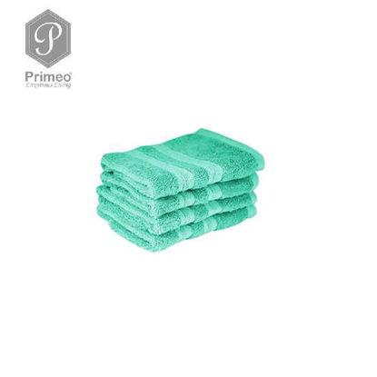 Picture of PRIMEO Premium 100% Cotton Face Towel 520gsm Set of 2 Taupe