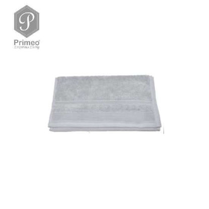 Picture of PRIMEO Premium 100% Ring Spun Carded Cotton Double Pile Face Towel 540gsm Grey