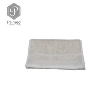 Picture of PRIMEO Premium 100% Ring Spun Carded Cotton Double Pile Face Towel 540gsm Taupe