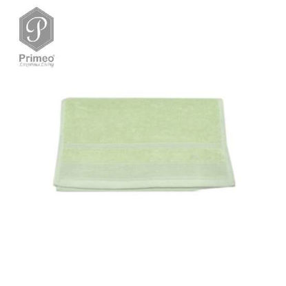 Picture of PRIMEO Premium 100% Ring Spun Carded Cotton Double Pile Face Towel 540gsm Green