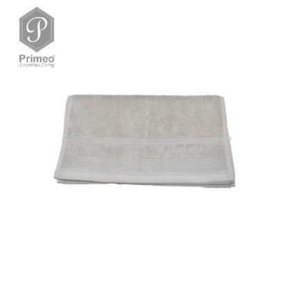 Picture of PRIMEO Premium 100% Ring Spun Carded Cotton Double Pile Hand Towel 540gsm Taupe