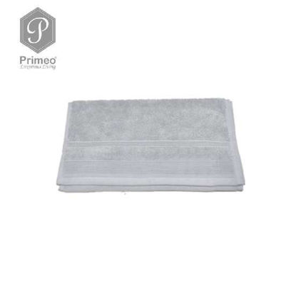 Picture of PRIMEO Premium 100% Ring Spun Carded Cotton Double Pile Hand Towel 540gsm Grey