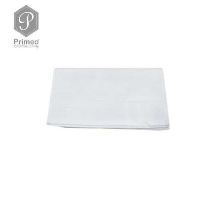 Picture of PRIMEO Premium 100% Ring Spun Carded Cotton Double Pile Hand Towel 540gsm White