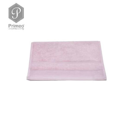Picture of PRIMEO Premium 100% Ring Spun Carded Cotton Double Pile Hand Towel 540gsm Pink