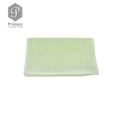 Picture of PRIMEO Premium 100% Ring Spun Carded Cotton Double Pile Hand Towel 540gsm Green