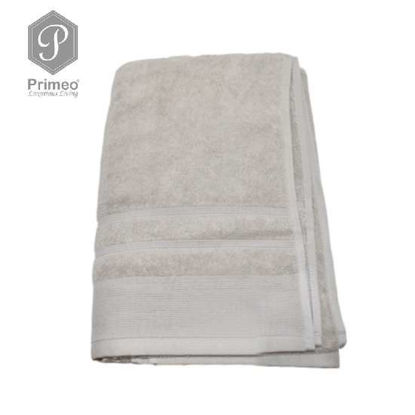 Picture of PRIMEO Premium 100% Ring Spun Carded Cotton Double Pile Bath Towel 540gsm Taupe