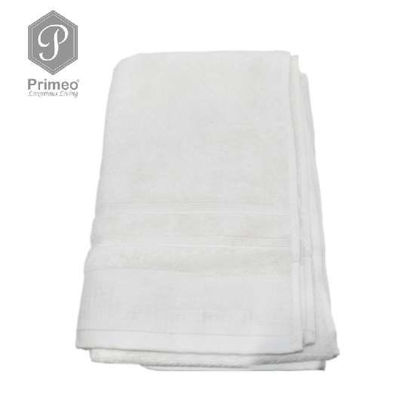 Picture of PRIMEO Premium 100% Ring Spun Carded Cotton Double Pile Bath Towel 540gsm Beige