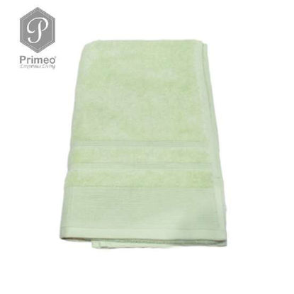 Picture of PRIMEO Premium 100% Ring Spun Carded Cotton Double Pile Bath Towel 540gsm Green