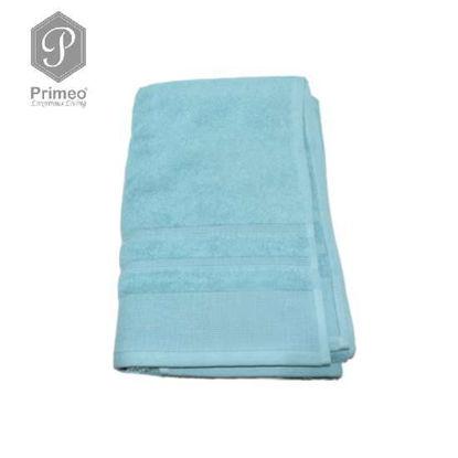 Picture of PRIMEO Premium 100% Ring Spun Carded Cotton Double Pile Bath Towel 540gsm Aqua