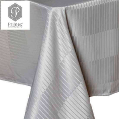 Picture of PRIMEO Jacquard Table Cloth Gray