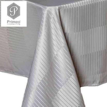 Picture of PRIMEO Jacquard Table Cloth Gray