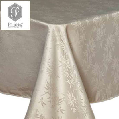 Picture of PRIMEO Jacquard Table Cloth Taupe