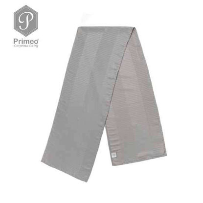 Picture of PRIMEO Jacquard Table Runner Gray