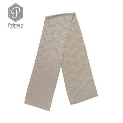 Picture of PRIMEO Jacquard Table Runner Taupe