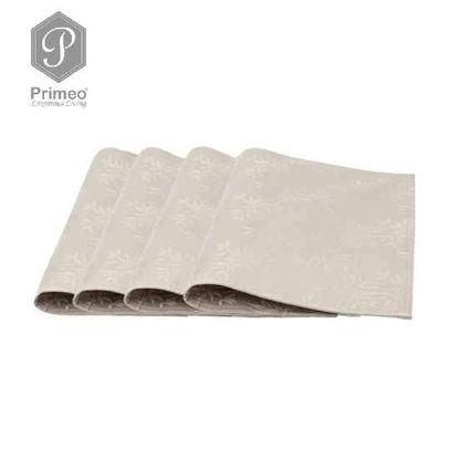Picture of PRIMEO Premium Jacquard Placemat Taupe