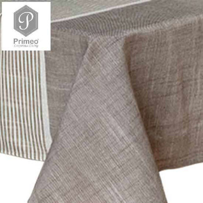 Picture of PRIMEO Premium Yarn Dyed Table cloth GY