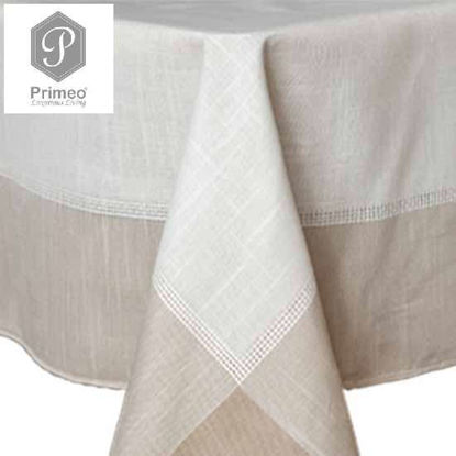 Picture of PRIMEO Premium Yarn Dyed Table cloth BG