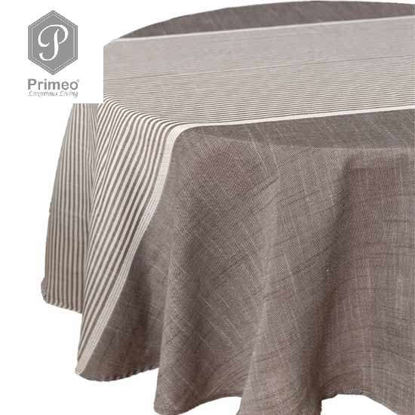 Picture of PRIMEO Yarn Dyed Table cloth Gray