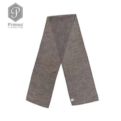 Picture of PRIMEO Yarn Dyed Table Runner Gray