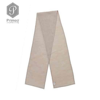 Picture of PRIMEO Yarn Dyed Table Runner Beige