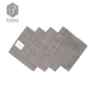 Picture of PRIMEO Yarn Dyed Coaster Gray