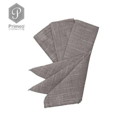 Picture of PRIMEO Yarn Dyed Table Napkin GY