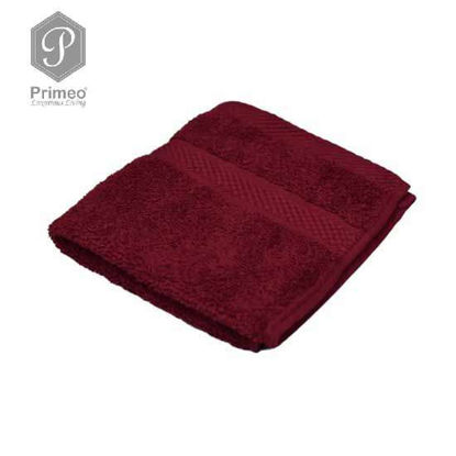 Picture of INFINITE by PRIMEO Face Towel Red