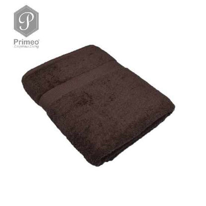 Picture of INFINITE by PRIMEO Bath Towel Brown