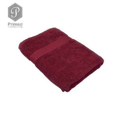 Picture of INFINITE by PRIMEO Bath Towel Red