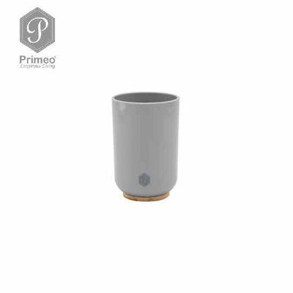 Picture of PRIMEO Premium Bamboo Tumbler 7.2cm X 7.2cm X 10.8cm