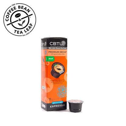 Picture of Coffee Bean and Tea Leaf Premium Decaf Espresso Capsule