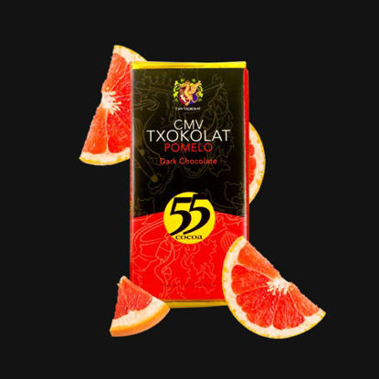 Picture of CMV Txokolat Davao Pomelo Dark Chocolate Bar