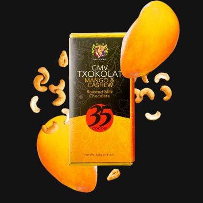 Picture of Mango & Cashew in Roasted Milk Chocolate
