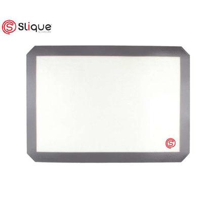 Picture of SLIQUE Premium Silicone + Fiber Non-Stick, Food Safe Baking Mat Baking Accessories Amazing Gift Idea For Any Occassion!