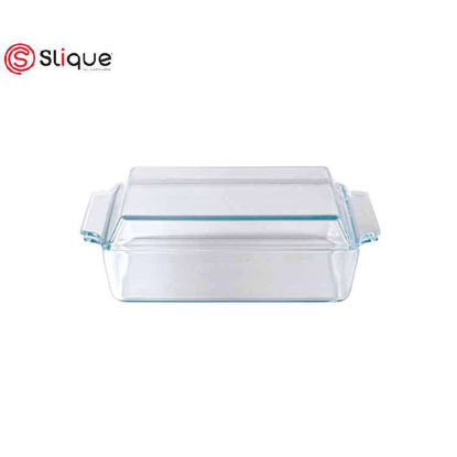 Picture of SLIQUE Square glass baking dish with lid