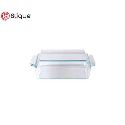 Picture of SLIQUE Rectangle glass baking dish with lid