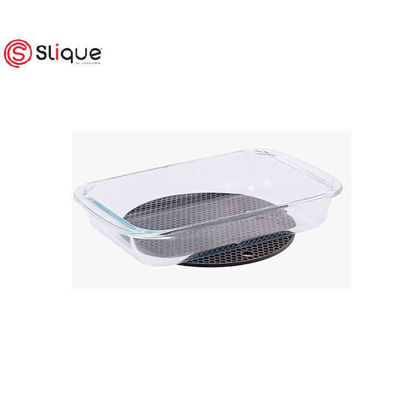 Picture of SLIQUE RECTANGLE GLASS BAKING DISH 3L