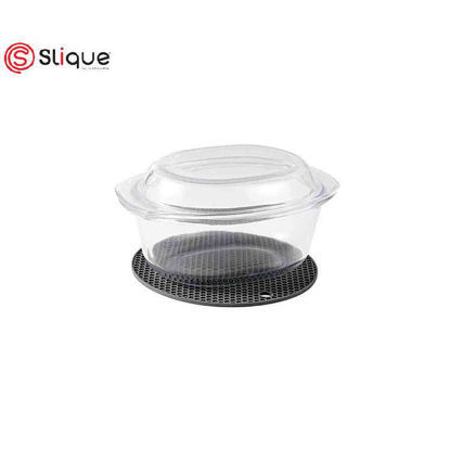 Picture of SLIQUE OVAL GLASS BAKING DISH 3.5L