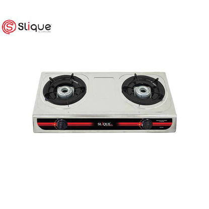 Picture of SLIQUE Stainless Double Gas Burner