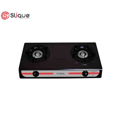 Picture of SLIQUE Non-stick Double Gas Burner