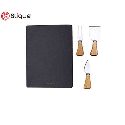 Picture of SLIQUE Cheese Slate board set of 4pcs